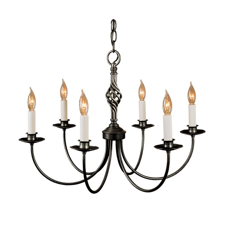 "Hubbardton Forge 108060 Twist Basket 6 Light 23"" Wide Candle Style"
