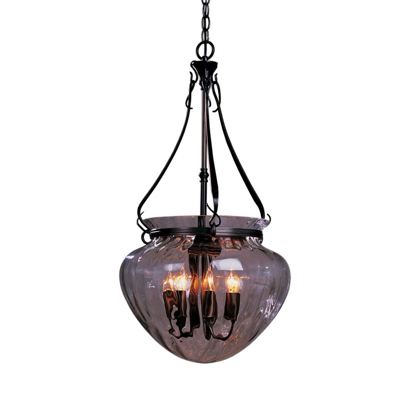 """Hubbardton Forge 121026 Acharn 7 Light 17"""" Wide Pendant with Water"""