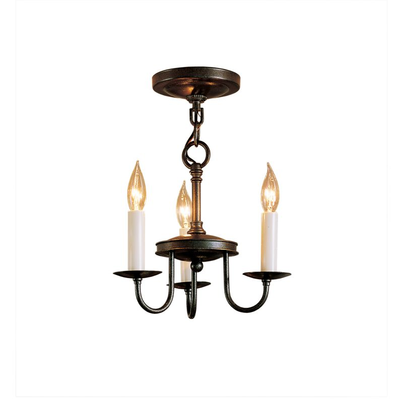 "Hubbardton Forge 122130 Simple Lines 3 Light 12"" Wide Mini Candle"