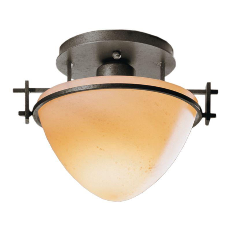 Hubbardton Forge 124247 1 Light Bowl Light Semi-Flush Ceiling Fixture Sale $215.60 ITEM: bci1163752 ID#:124247-07 :