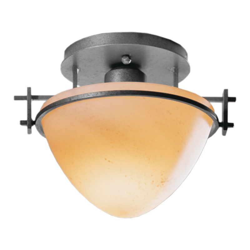 Hubbardton Forge 124247 1 Light Bowl Light Semi-Flush Ceiling Fixture Sale $215.60 ITEM: bci1163751 ID#:124247-08 :
