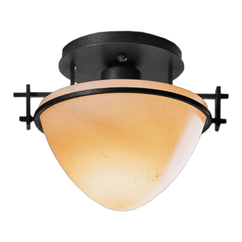 Hubbardton Forge 124247 1 Light Bowl Light Semi-Flush Ceiling Fixture Sale $215.60 ITEM: bci1163749 ID#:124247-10 :