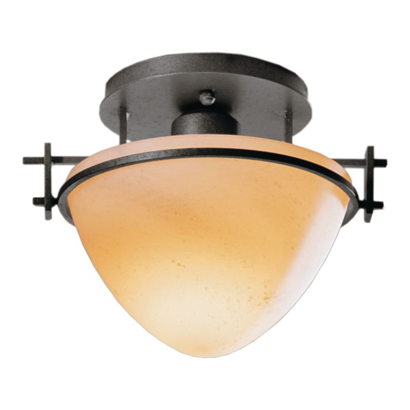 Hubbardton Forge 124247 1 Light Bowl Light Semi-Flush Ceiling Fixture Sale $215.60 ITEM: bci1163754 ID#:124247-20 :