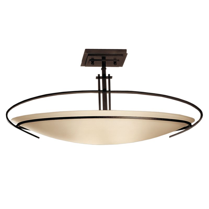 Hubbardton Forge 124341 2 Light Bowl Light Semi-Flush Ceiling Fixture Sale $814.00 ITEM: bci1333643 ID#:124341-03-G89 :