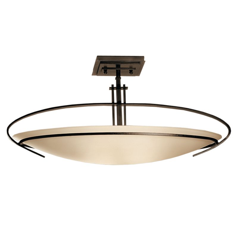 Hubbardton Forge 124341 2 Light Bowl Light Semi-Flush Ceiling Fixture Sale $814.00 ITEM: bci1333644 ID#:124341-05-G89 :