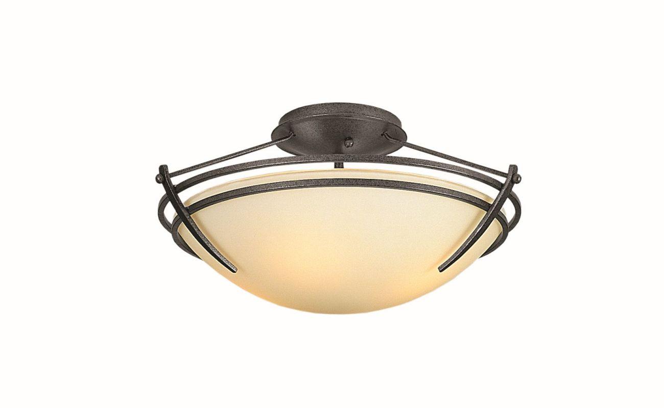 "Hubbardton Forge 124412F Presidio Tryne 2 Light 16.4"" Wide Semi-Flush Sale $558.80 ITEM: bci2890321 ID#:124412F-08 :"