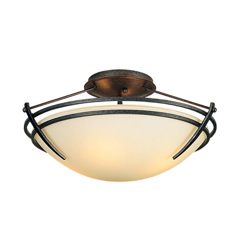 "Hubbardton Forge 124412F Presidio Tryne 2 Light 16.4"" Wide Semi-Flush Sale $558.80 ITEM: bci2890324 ID#:124412F-20 :"