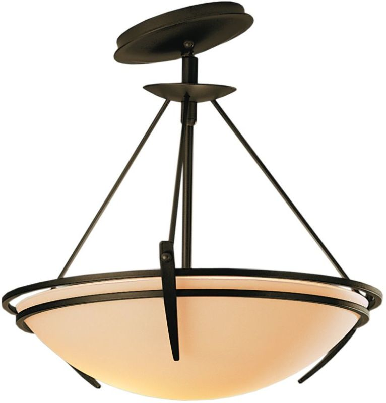 Hubbardton Forge 124424 2 Light Semi-Flush Ceiling Fixture with Bowl Sale $547.80 ITEM: bci1669809 ID#:124424-05 :