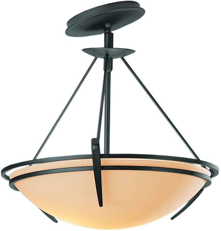 Hubbardton Forge 124424 2 Light Semi-Flush Ceiling Fixture with Bowl Sale $547.80 ITEM: bci1669811 ID#:124424-08 :