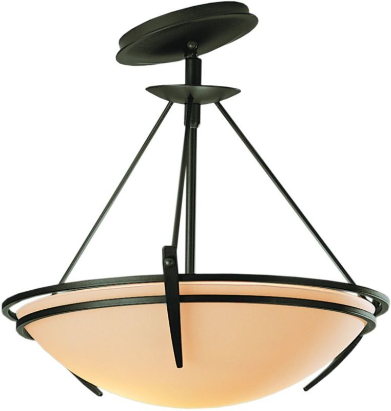 Hubbardton Forge 124424 2 Light Semi-Flush Ceiling Fixture with Bowl Sale $547.80 ITEM: bci1669810 ID#:124424-07 :