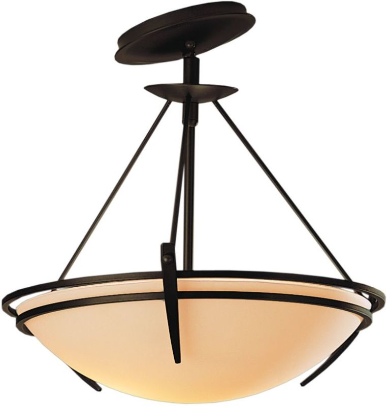 Hubbardton Forge 124424 2 Light Semi-Flush Ceiling Fixture with Bowl Sale $547.80 ITEM: bci1669808 ID#:124424-03 :