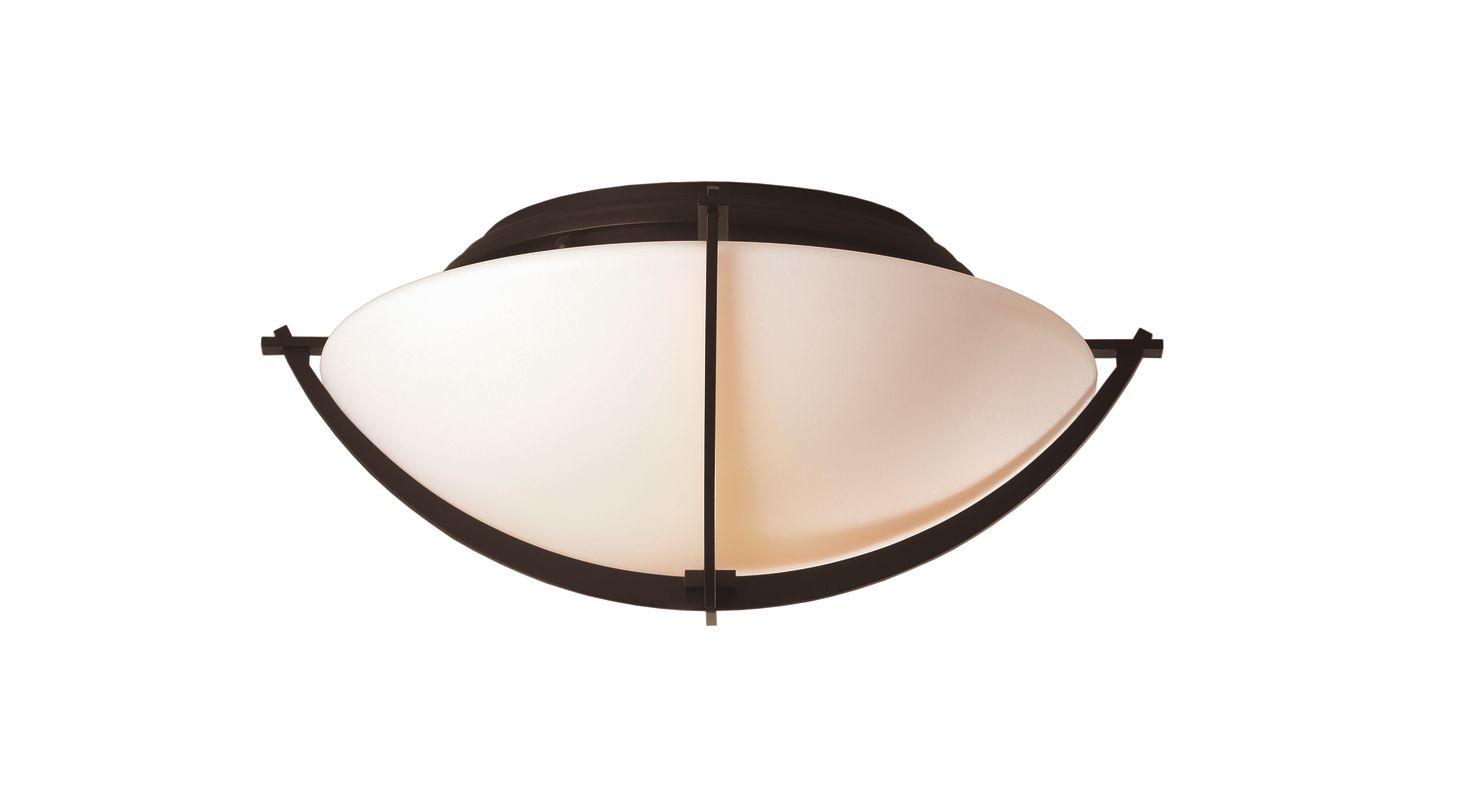 Hubbardton Forge 124550 2 Light Bowl Light Semi-Flush Ceiling Fixture Sale $554.40 ITEM: bci1334084 ID#:124550-03 :