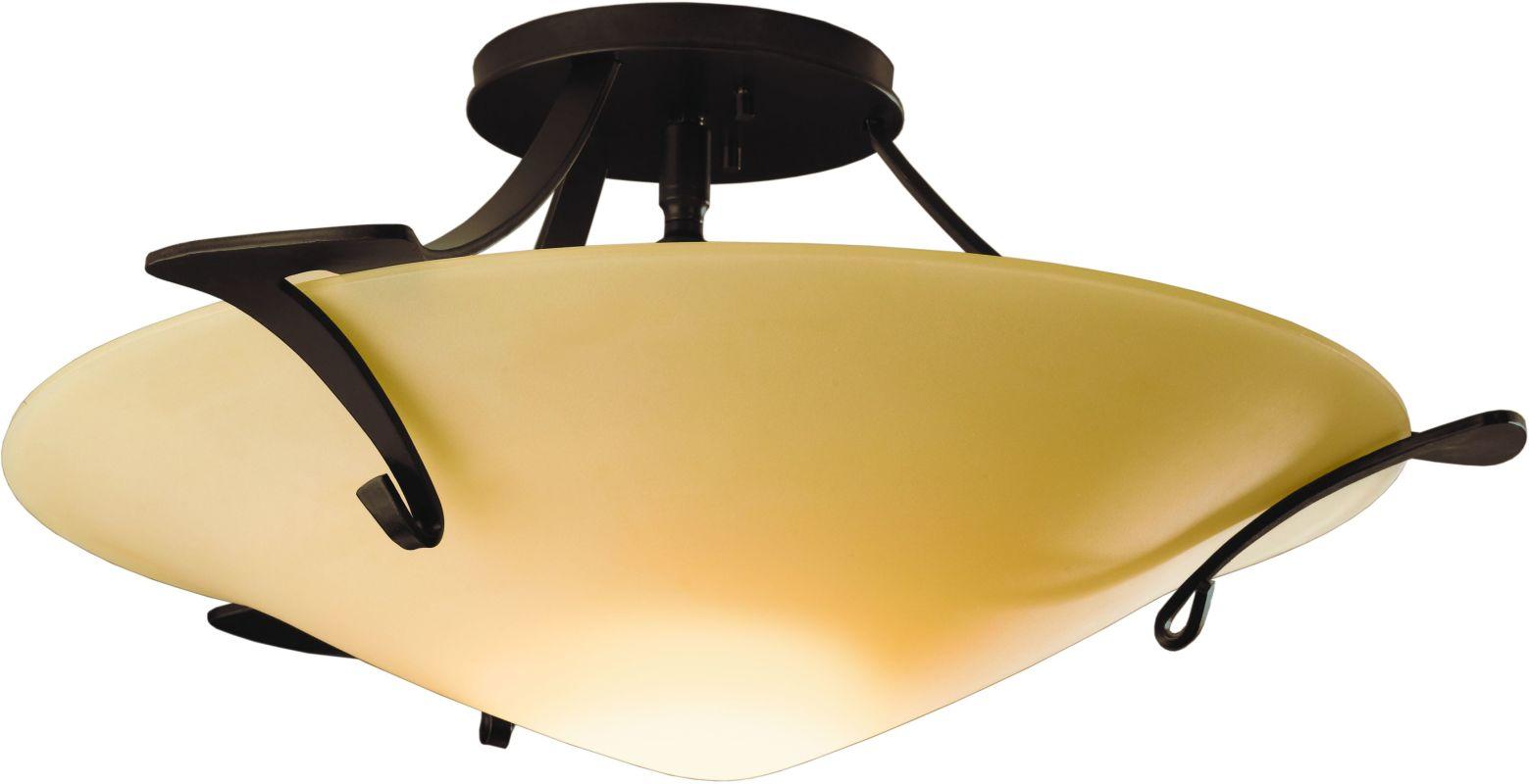 Hubbardton Forge 124710 1 Light Bowl Light Semi-Flush Ceiling Fixture