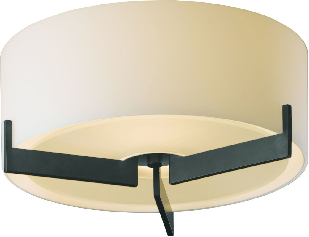 Hubbardton Forge 126401-08 Steel Contemporary Axis Ceiling Light