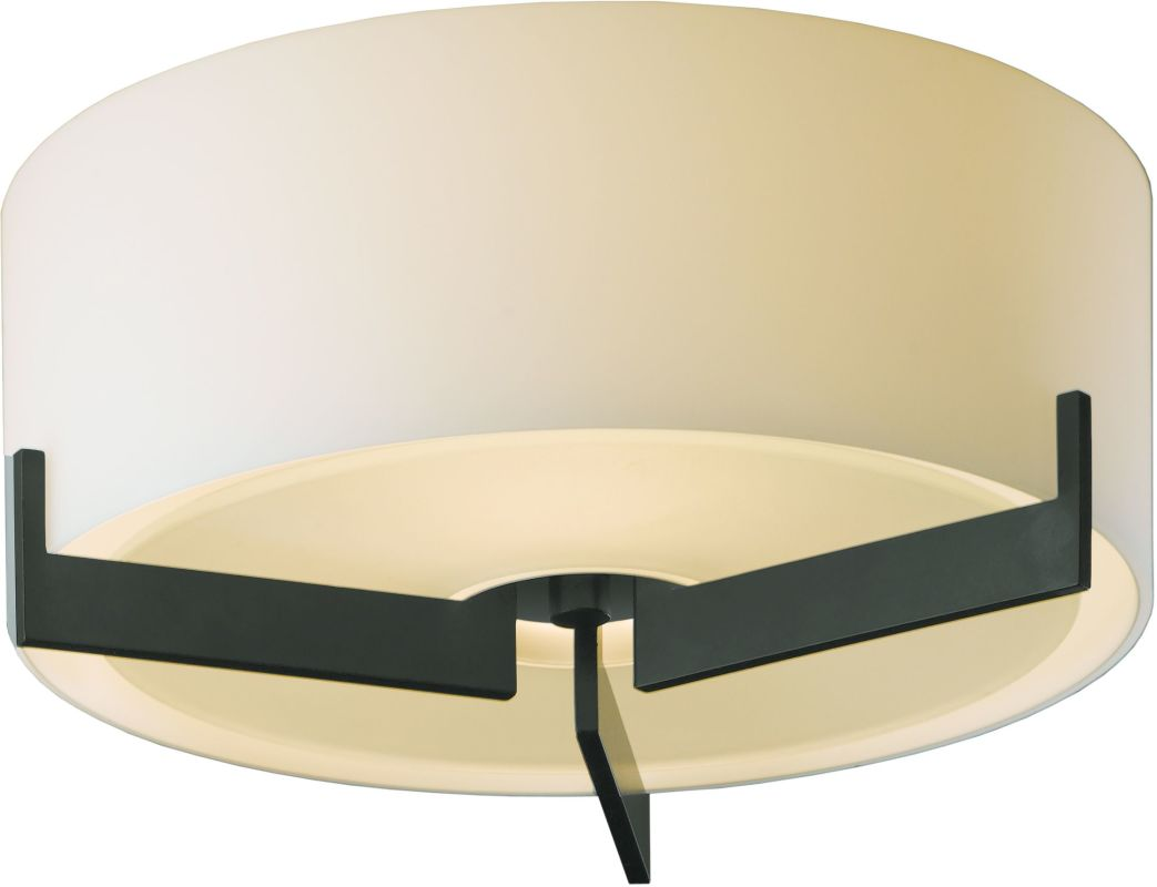 Hubbardton Forge 126401-20 Iron Contemporary Axis Ceiling Light