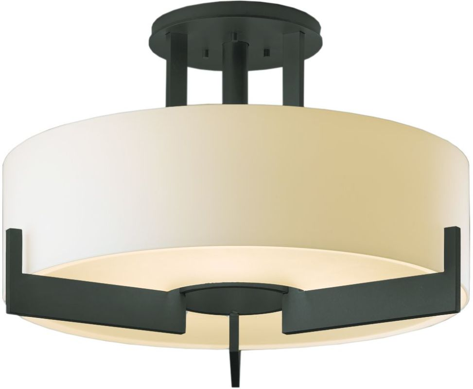 Hubbardton Forge 126403-20 Iron Contemporary Axis Ceiling Light