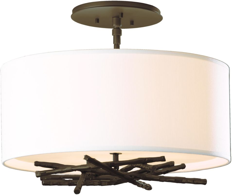 Hubbardton Forge 127660 3 Light Semi-Flush Ceiling Light from the Sale $858.00 ITEM: bci2007134 ID#:127660-03 :