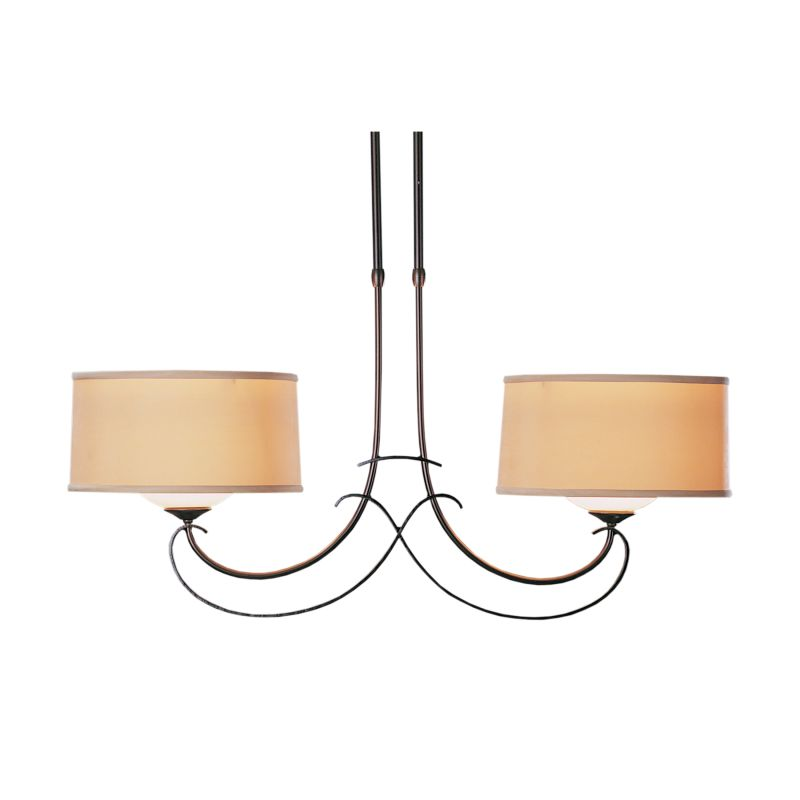 "Hubbardton Forge 131224 Almost Infinity 2 Light 34"" Wide Adjustable"