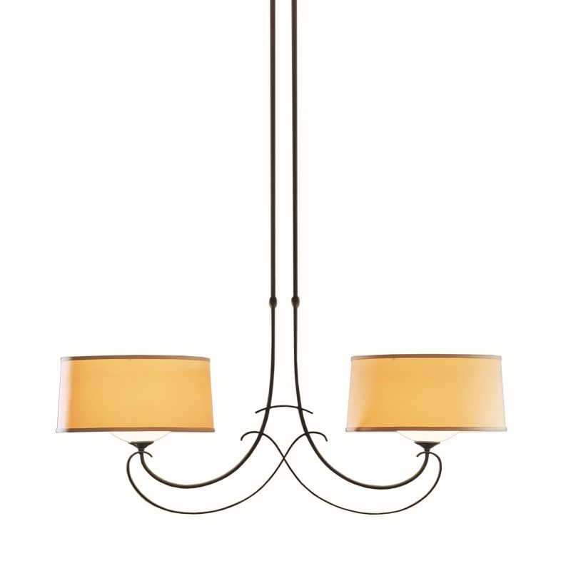 "Hubbardton Forge 131234 Almost Infinity 2 Light 43"" Wide Adjustable"