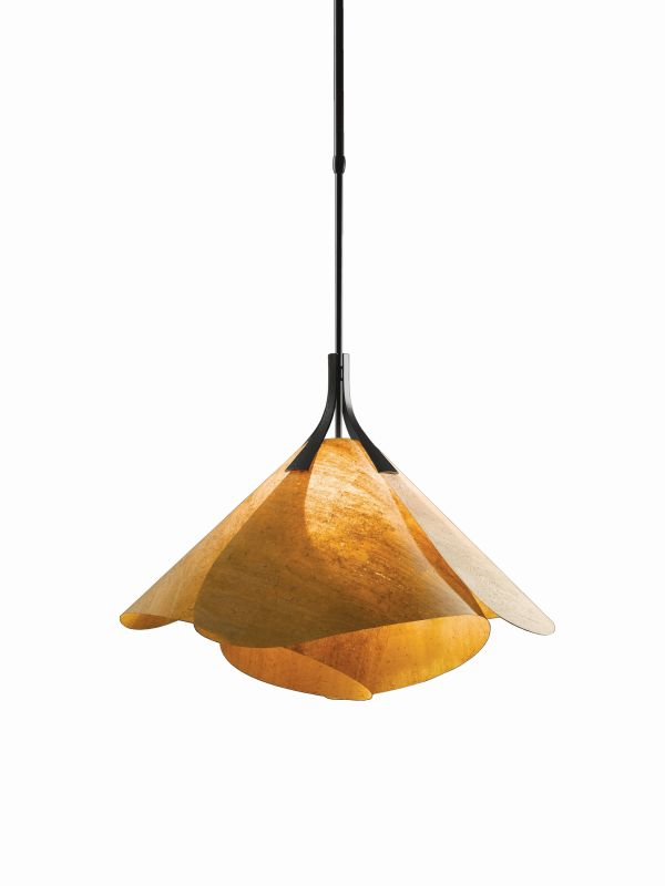 Hubbardton Forge 134503-10 Black Contemporary Mobius Pendant