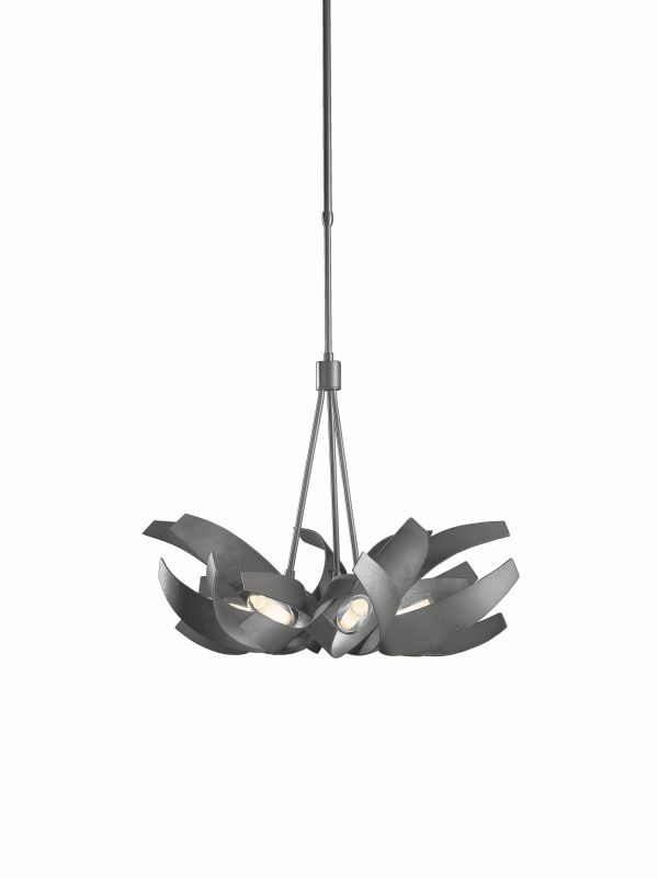 Hubbardton Forge 136501-08 Burnished Steel Contemporary Corona Pendant Sale $2959.00 ITEM: bci2007345 ID#:136501-08-CTO :