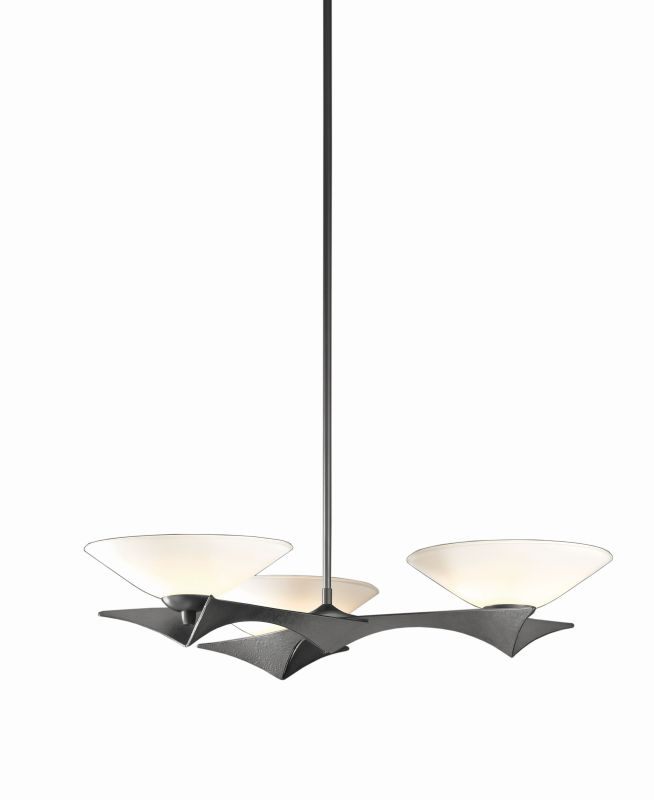 "Hubbardton Forge 136550 Moreau 3 Light 27"" Wide Adjustable Pendant"