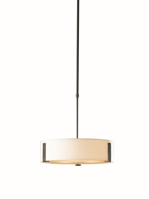 Hubbardton Forge 136753-07 Dark Smoke Contemporary Impressions Pendant