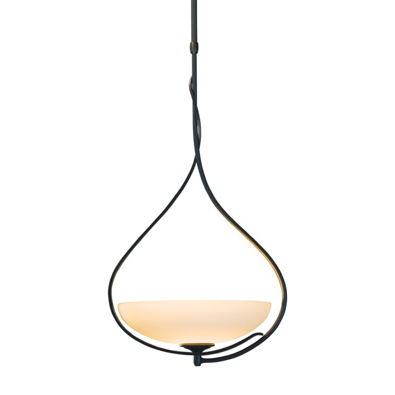 "Hubbardton Forge 137475 Lyra 1 Light 15"" Wide Adjustable Pendant with"