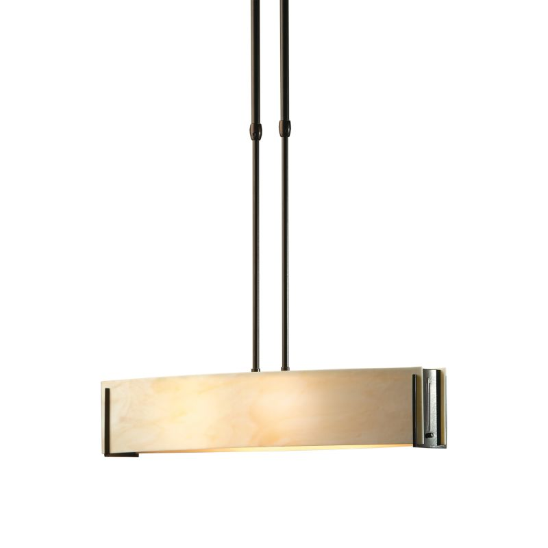 Hubbardton Forge 137605 Dark Smoke Contemporary Intersections Pendant