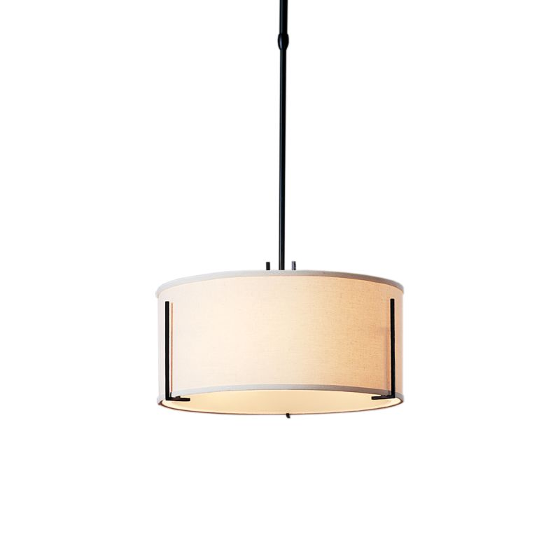 "Hubbardton Forge 139600 Exos 3 Light 16"" Wide Adjustable Pendant with"