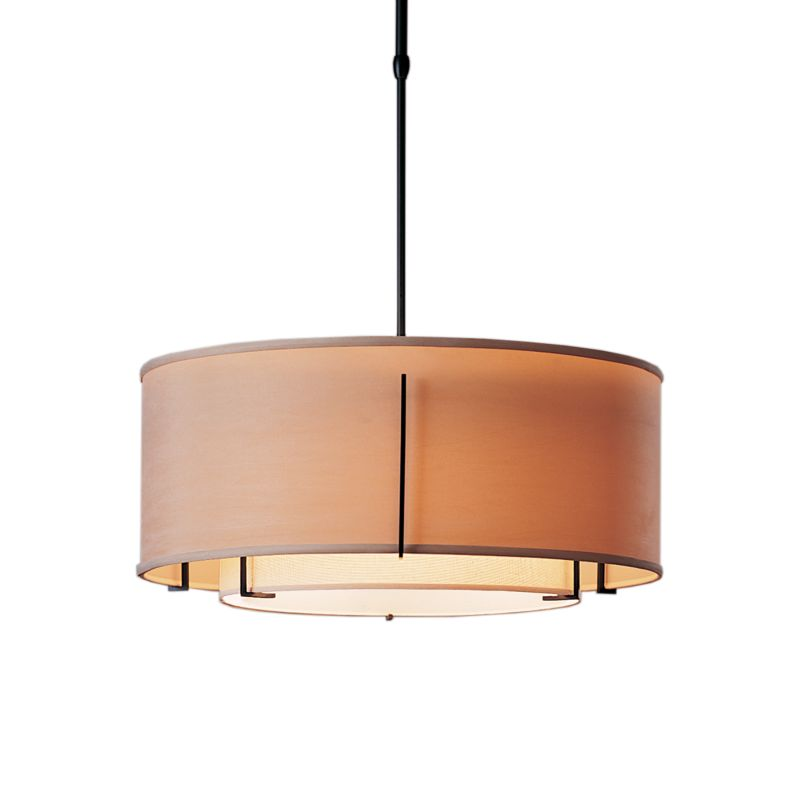 "Hubbardton Forge 139605 Exos 3 Light 23"" Wide Adjustable Pendant with"