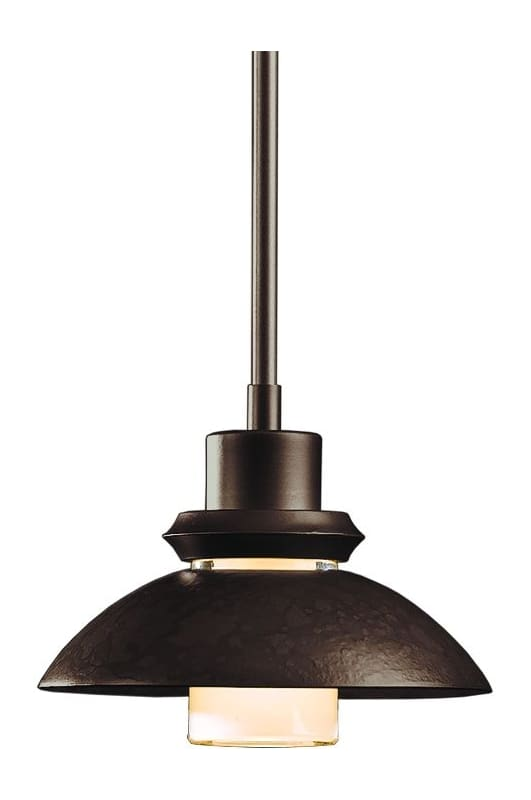 hubbardton forge 18493 03 mahogany 1 light 60 watt down lighting