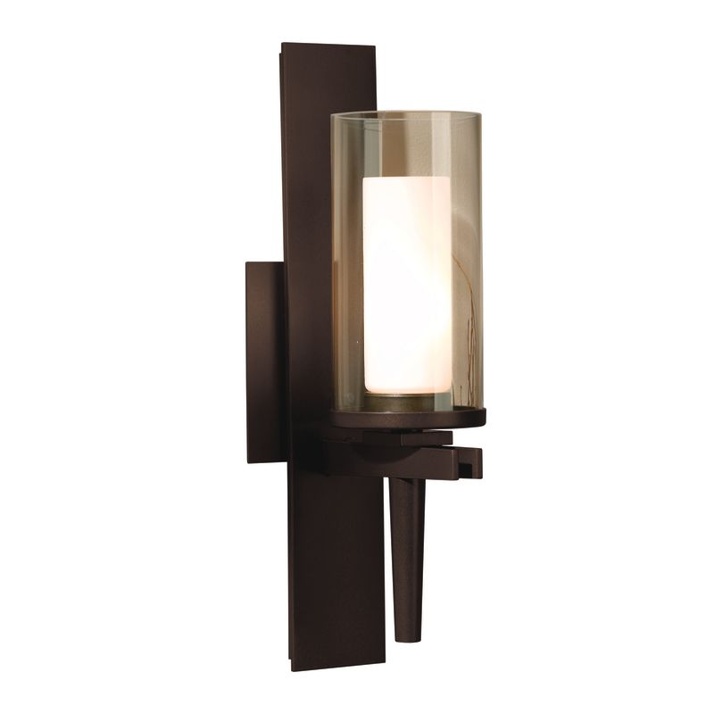 hubbardton forge 204301 03 mahogany 1 light 60 watt direct wire up