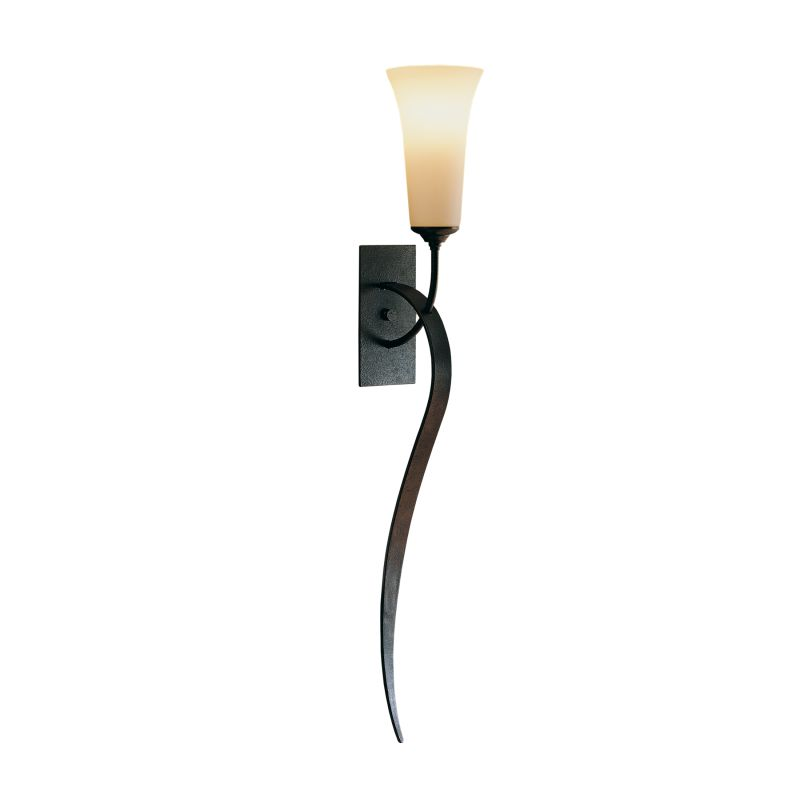 "Hubbardton Forge 204526 Single Light 29"" High Wall Sconce with"