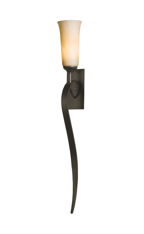 Hubbardton Forge 204529 Sweeping Taper 1 Light Up Light Direct Wire
