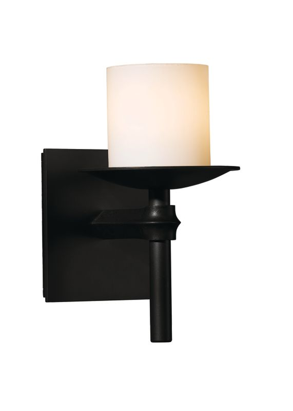 hubbardton forge 204901 10 black 1 light 60 watt 8 direct wire wall