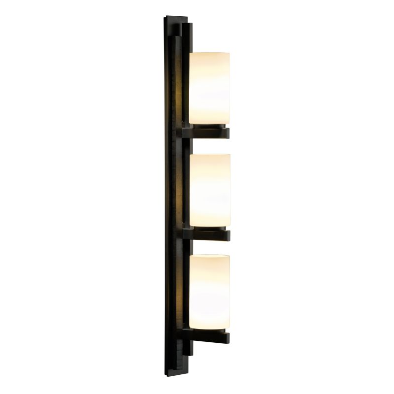 "Hubbardton Forge 206309L Ondrian 3 Light 27"" High Wall Sconce with"
