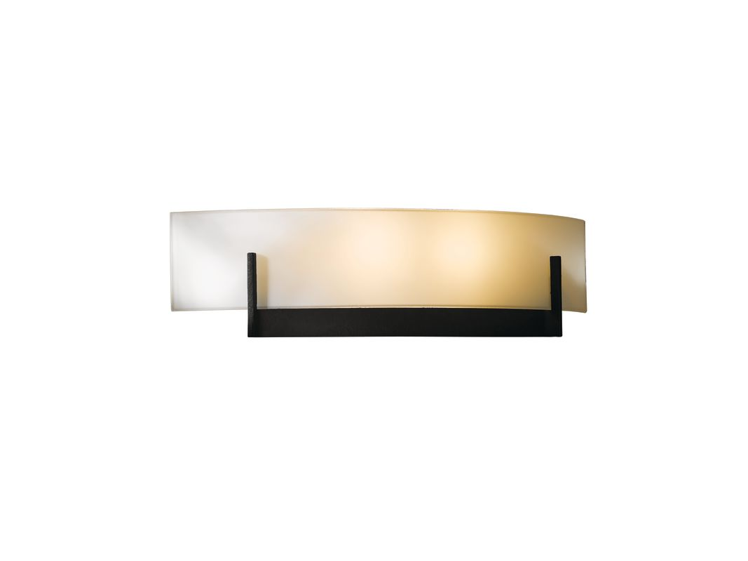 Hubbardton Forge 206401-10 Black Contemporary Axis Wall Sconce