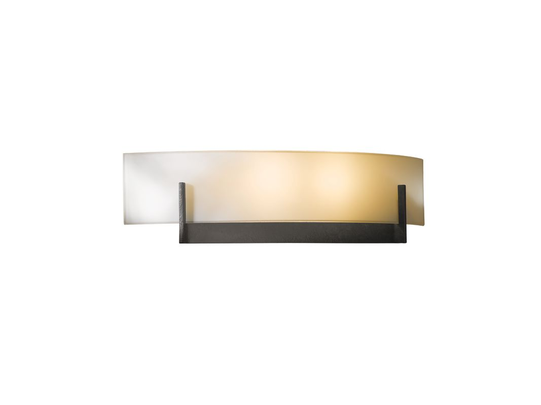 Hubbardton Forge 206401-20 Natural Iron Contemporary Axis Wall Sconce