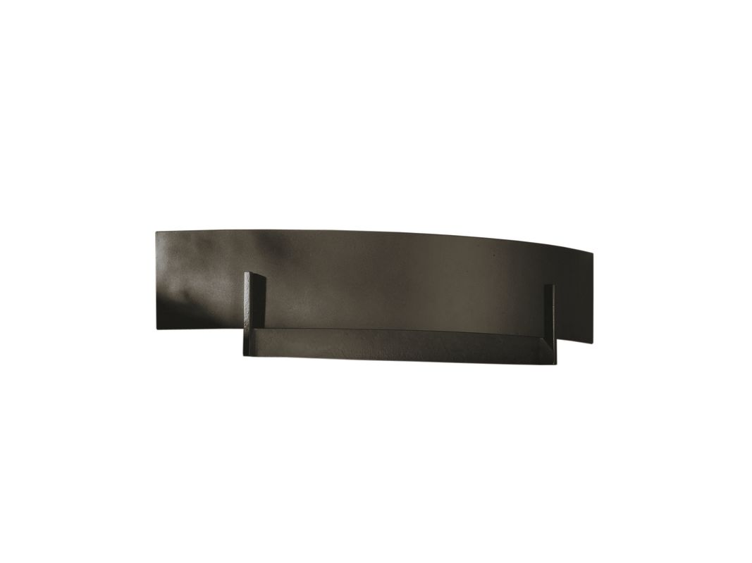 Hubbardton Forge 206403-07 Dark Smoke Contemporary Axis Wall Sconce