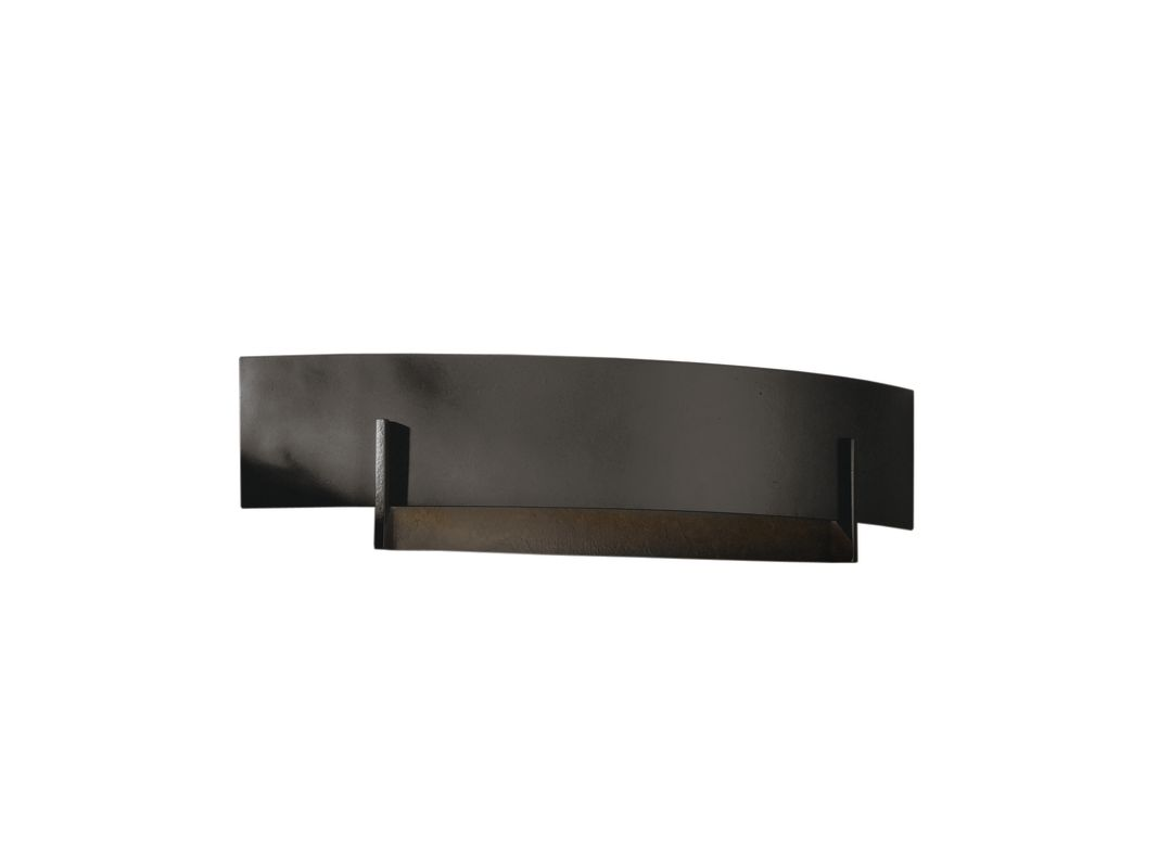 Hubbardton Forge 206403-20 Natural Iron Contemporary Axis Wall Sconce