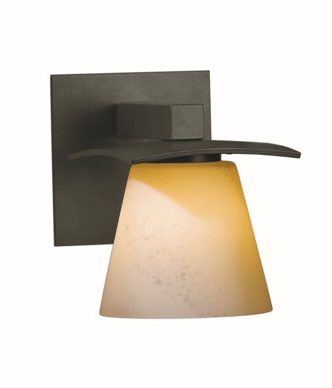 "Hubbardton Forge 206601F Wren Single Light 7"" High Wall Sconce with"
