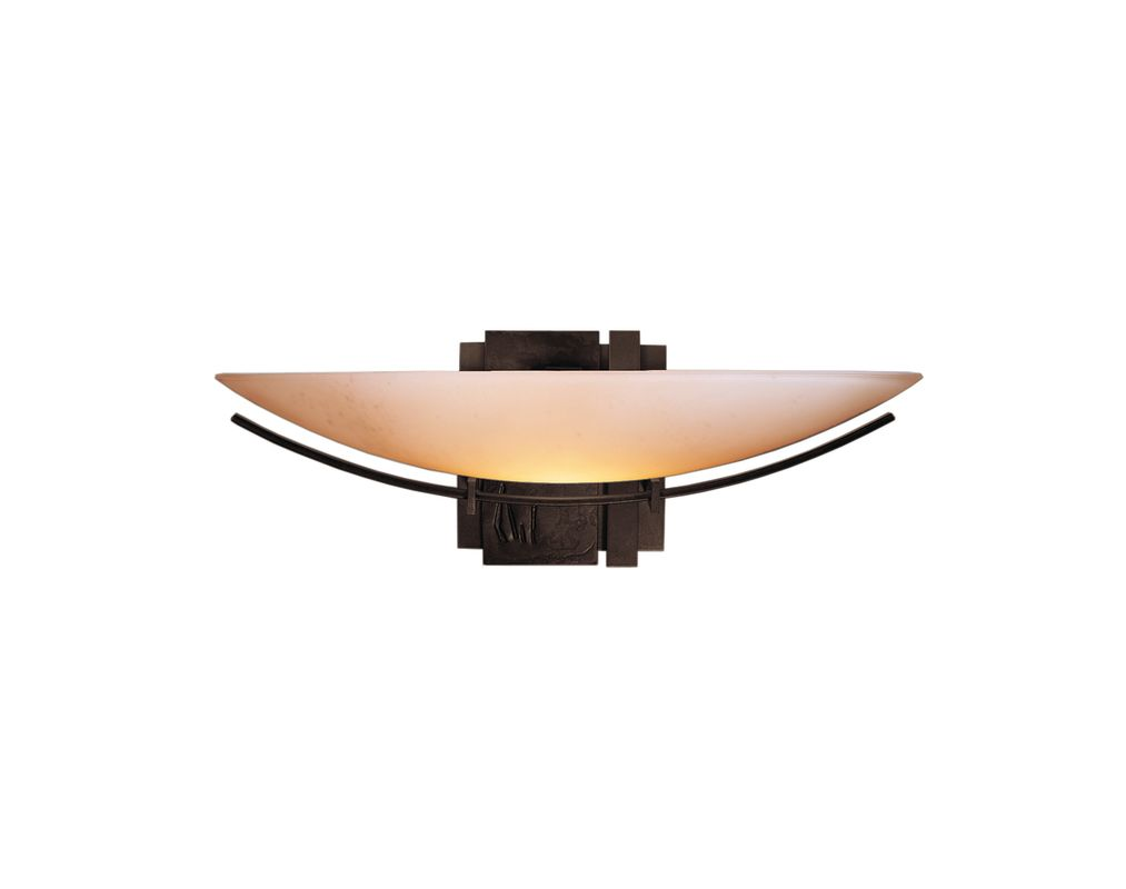 Hubbardton207370 Mahogany Contemporary Oval Impression Wall Sconce Sale $539.00 ITEM: bci1670474 ID#:207370-03 :