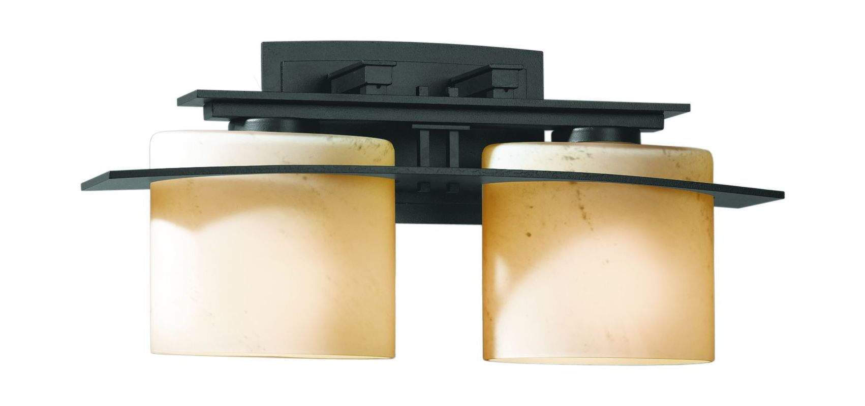 Hubbardton Forge 207522 2 Light Down Lighting Wall Sconce from the Arc