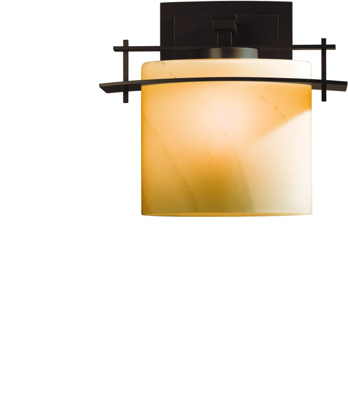 hubbardton forge 207540 03 mahogany down lighting single light medium