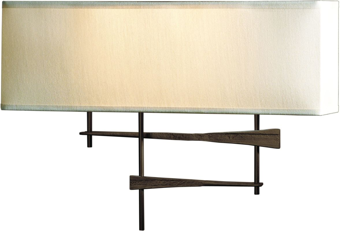 Hubbardton Forge 207675-03 Mahogany Contemporary Cavaletti Wall Sconce