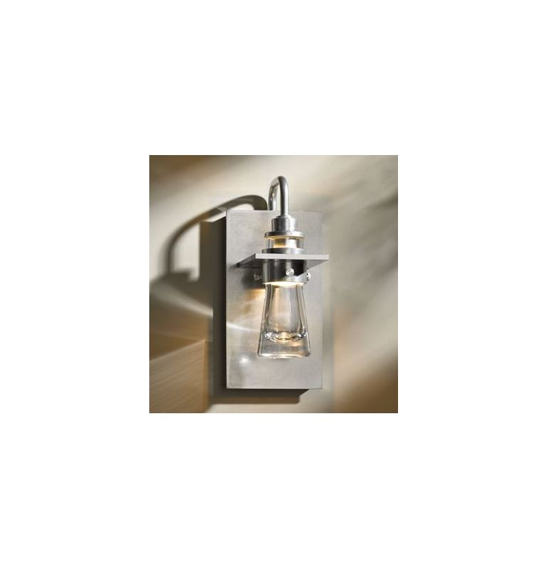 Hubbardton Forge 207750-82 Platinum Industrial Erlenmeyer Wall Sconce