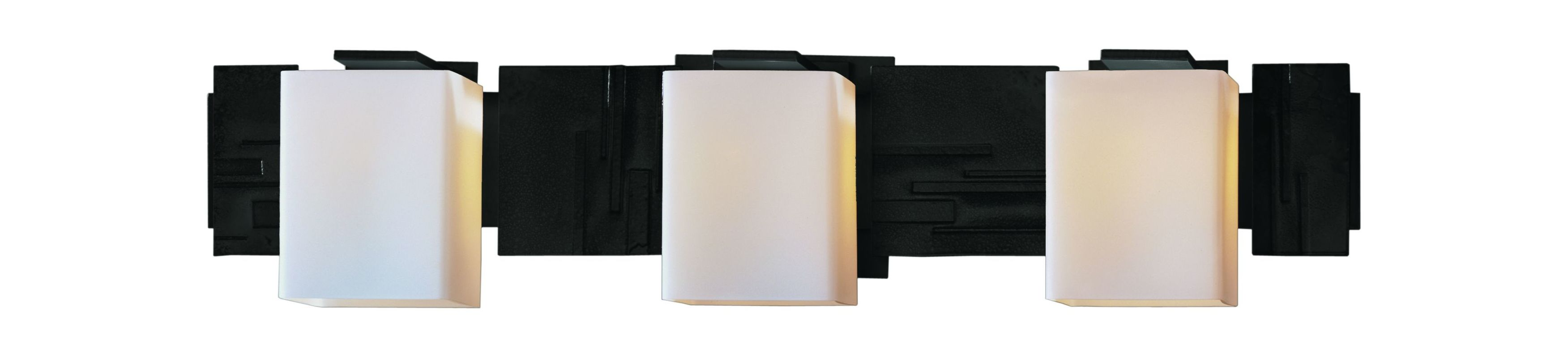 Hubbardton Forge 207843 3 Light Down Lighting Wall Sconce from the