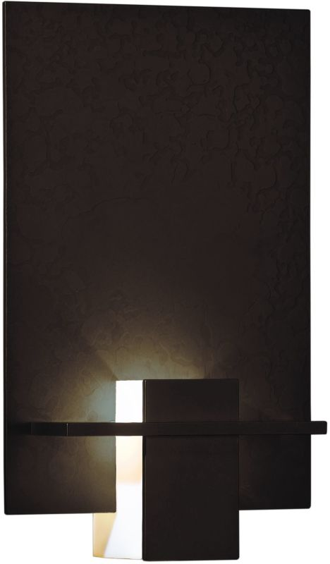 Hubbardton Forge 217510-03 Mahogany Contemporary Aperture Wall Sconce