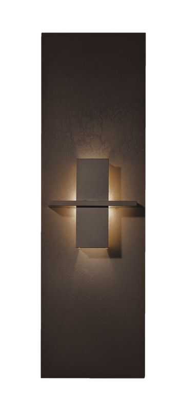 Hubbardton Forge 217520-03 Mahogany Contemporary Aperture Wall Sconce